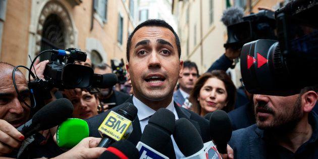 Luigi Di Maio, leader du Mouvement 5 Etoiles (M5S), à Rome le 10 mai