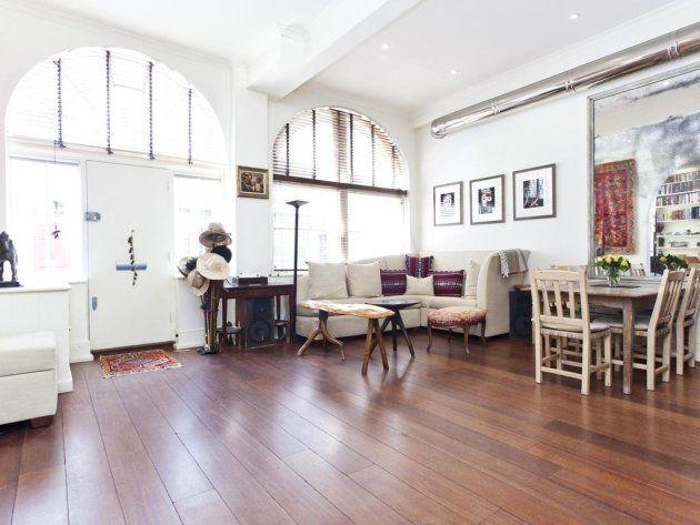 Le salon de l'ancien appartement de Madonna et Guy Ritchue à