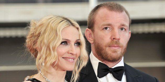 Madonna et Guy Ritchie au 61ème Festival de Cannes, le 21 mai