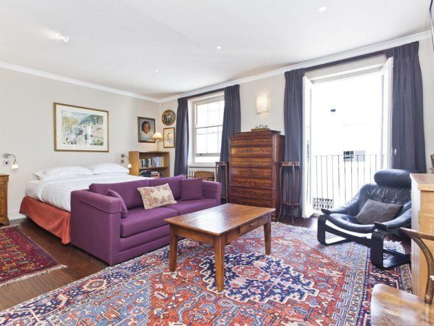 L'une des chambres de l'ancien appartement de Madonna et Guy Ritchue à