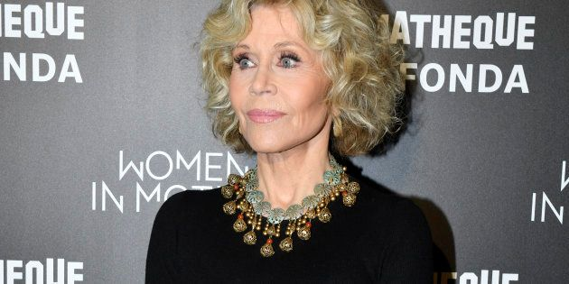 Jane Fonda à la Cinémathèque française à Paris, le 22 octobre