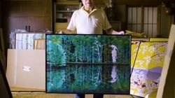 Ce Japonais peint avec le logiciel