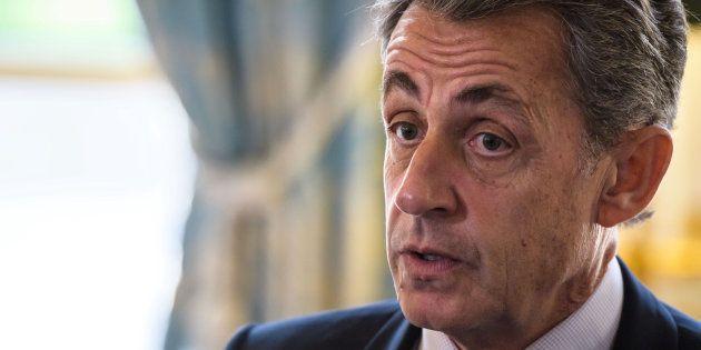 Nicolas Sarkozy à l'Elysée le 6 novembre