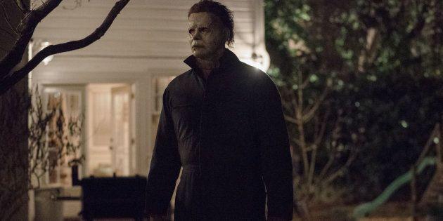 Michael Myers dans le nouveau film Halloween, sortie au cinéma le 24 octobre 2018.