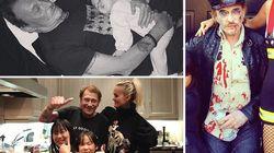 Ses dernières images de joie en famille avec Laeticia et ses