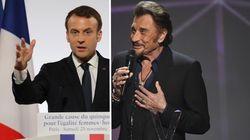 Mort de Johnny Hallyday: Macron rend hommage au