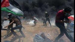 Les images des heurts entre Palestiniens et armée