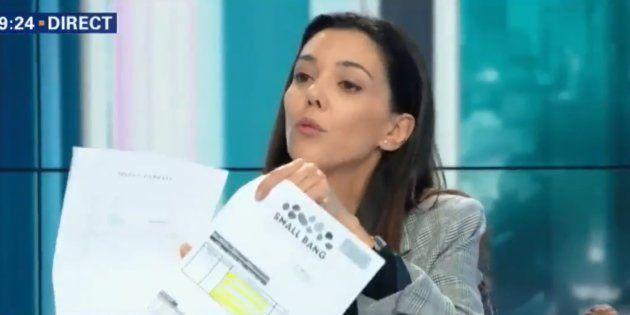 Sophia Chikirou montre les factures des campagnes de Hamon et Macron pour nier les