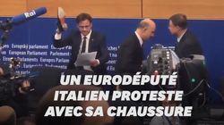 Un eurodéputé italien écrase les notes de Moscovici avec sa