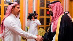 La photo saisissante de la rencontre entre le fils de Khashoggi et le prince héritier