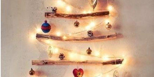 Huit idées de sapins de Noël alternatifs