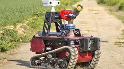 Sentinel, le robot choisi par les pompiers pour sécuriser le Grand