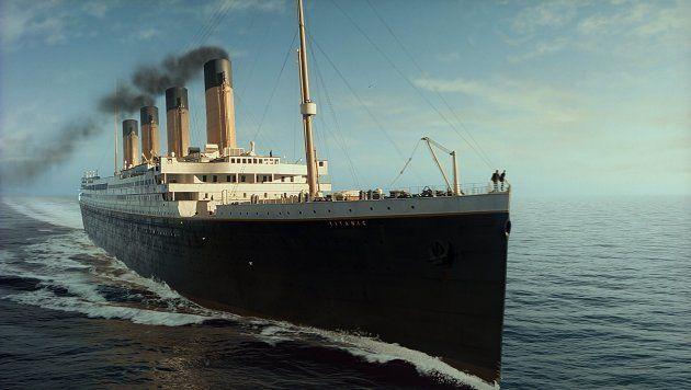 Le navire tel que reproduit dans le film