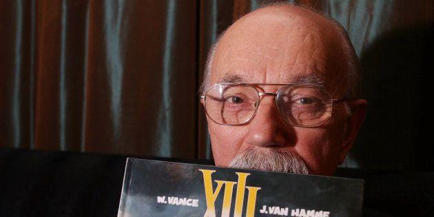 Le dessinateur William Vance à Bruxelles en
