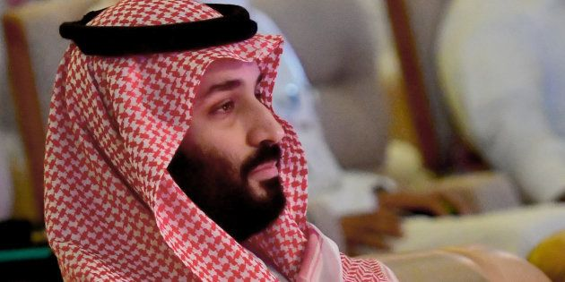Mohammed ben Salmane lors du forum international sur l'investissement à Ryad le 24 octobre
