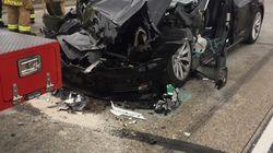 Musk vante la résistance de ses Tesla après... un nouvel accident lié à