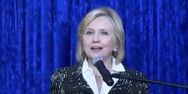 Hillary Clinton, visée par un colis suspect, a
