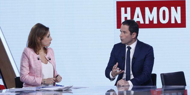 Benoît Hamon, ici sur le plateau à l'automne 2016, est furieux de ne pas être invité à L'Emission politique...