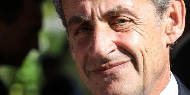 Nicolas Sarkozy à Paris le 19 septembre