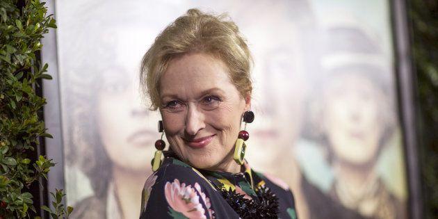 Meryl Streep qui sera en tête d'affiche du prochain long métrage du réalisateur américain Steven