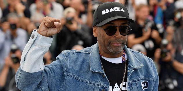 Spike Lee à Cannes le 15 mai