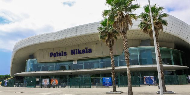 NICE, FRANCE - JUNE 25: General view of Palais Nikaia venue on June 25, 2014 in Nice, France. (Photo...