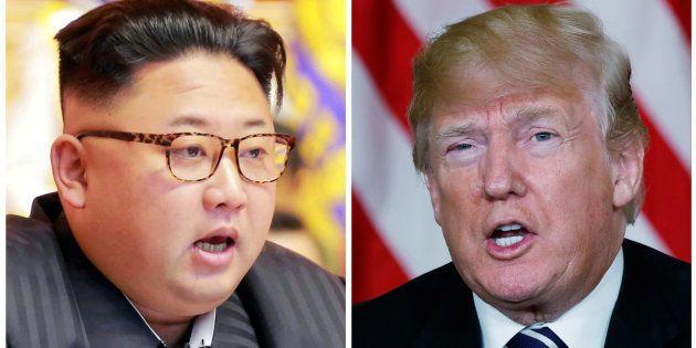 Kim Jong Un et Donald
