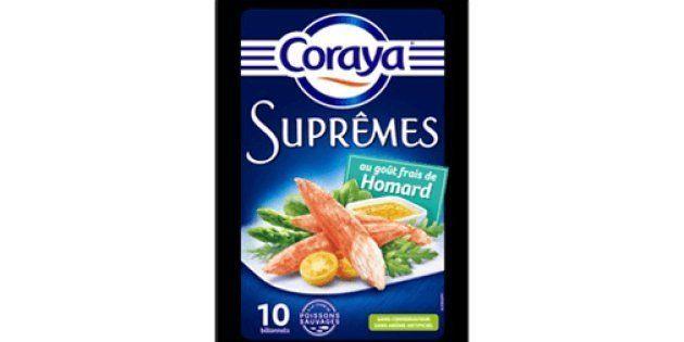 Coraya commercialise des suprêmes au homard... sans une seule trace du crustacé