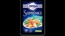 Coraya commercialise des suprêmes de surimi