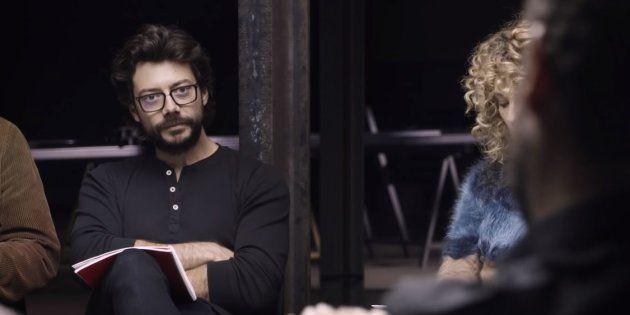 Álvaro Morte (Le Professeur) dans le teaser inédit de la saison 3