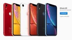 Les prix de l'iPhone XR avec forfait chez Orange, SFR, Free, Bouygues Telecom, Sosh et
