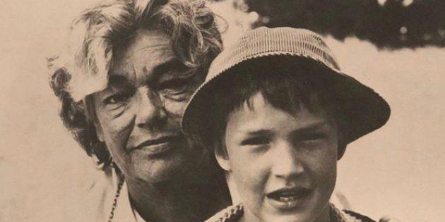 Sur son compte Instagram, Benjamin Castaldi a publié une photo avec sa grand-mère Simone