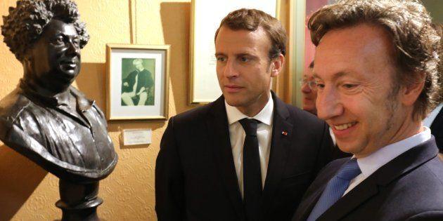L'animateur Stéphane Bern, chargé par Emmanuel Macron d'une mission sur la sauvegarde du patrimoine,...