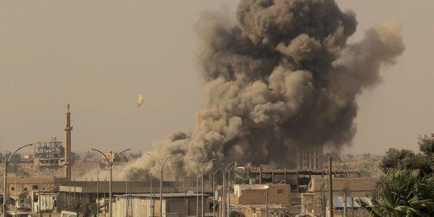 Une explosion à Raqqa le 15 août