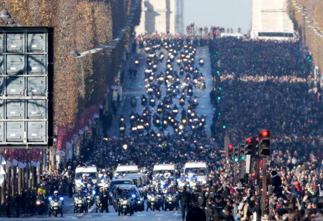 L'incroyable journée d'hommage à Johnny Hallyday en