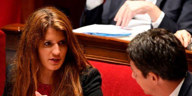Marlène Schiappa à l'Assemblée nationale le 16 mai