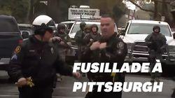 Les images de l'intervention policière à Pittsburgh après la fusillade dans une