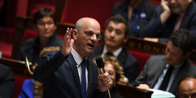 Jean-Michel Blanquer à l'Assemblée nationale le 8