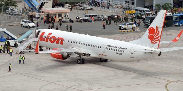 D'après l'agence nationale indonésienne de recherche et de sauvetage, un avion de la compagnie Lion Air...