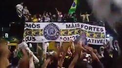 Les partisans de Jair Bolsonaro fêtent leur