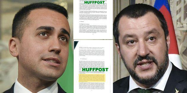 Comment le scoop du HuffPost italien sur l'accord de gouvernement fait trembler