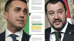 Comment le scoop du HuffPost italien sur l'accord de gouvernement fait trembler