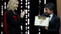 Le Japonais Kore-Eda remporte la palme d'or 2018 avec son
