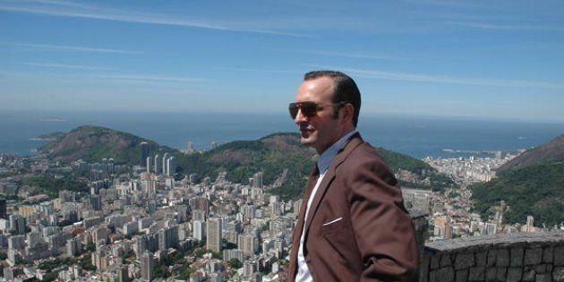 Jean Dujardin au Brésil