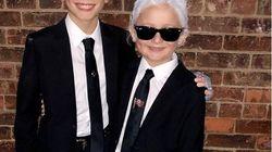 Le fils spirituel de Karl Lagerfeld lui a rendu hommage pour