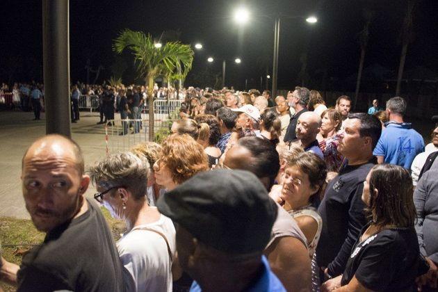 Johnny Hallyday: les habitants de Saint-Barthélemy ont répondu présent à la veillée