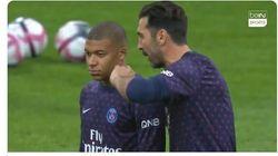 Tout le monde aimerait savoir ce que Buffon a dit à Mbappé avant