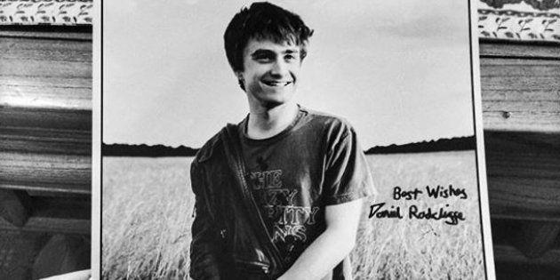 Daniel Radcliffe a envoyé une carte de vœux à cette mamie française... qui ne le connaît