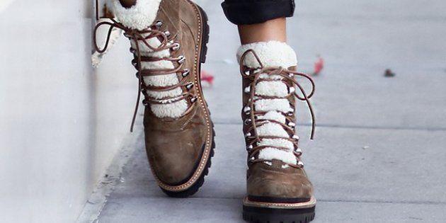 Les chaussures de randonnée sont dans les starting blocks