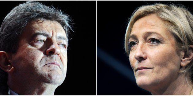 Pour Marine Le Pen, une alliance antisystème avec Jean-Luc Mélenchon sur le modèle italien